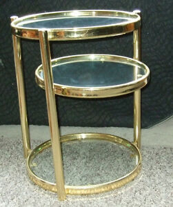 Decorative Articulate matching coffee and side tables Strathcona County Edmonton Area image 6
