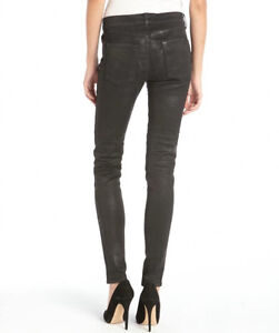 Habitual Eve High-rise coated skinny jeans size 25 ($300 retail)