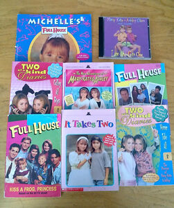 18 TV and Reality Books, Magazines,18 CD/DVDS, VHS and Cassettes