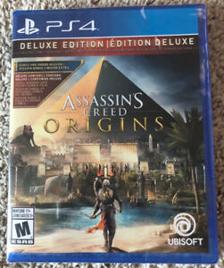 PS4 Assassins Creed Origins Deluxe Edition Sony Playstation