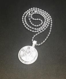 Brand new Real Sterling bling pendant !