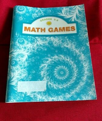 5 Grade Math Games (Grades 3-5 Math Games ~ Pearson ~ Like New)