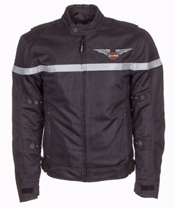 Harley Davidson Top Wing Textile Functional Jacket Br New Large