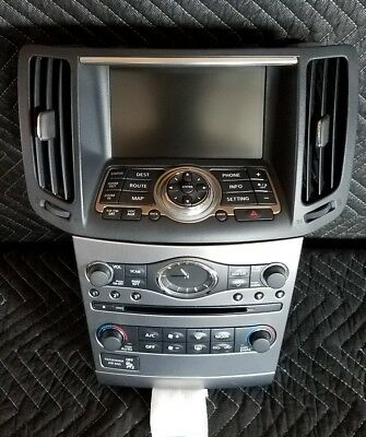 2010, 2011, 2012 Infinti G37 Sedan OEM Navigation Display Unit for sale  Los Angeles