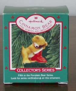 Cinnamon Bear - Fifth - with bag (1987) by Hallmark Kingston Kingston Area image 1