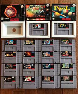 Super Nintendo SNES - Jeux / Games