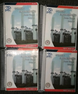 3rd Class Power Engineering books. Edition 2.0.