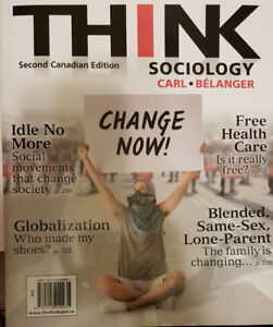 Think Sociology Second Canadian Edition (Brand New)