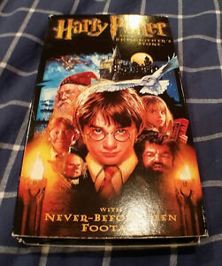 HARRY POTTER AND THE PHILOSOPHER'S STONE - VHS MOVIE