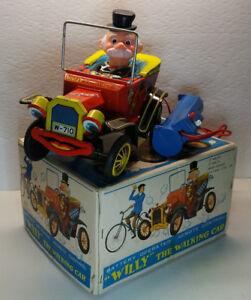 Boxed Vintage Toy - Japan Litho Tin Car