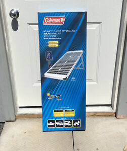 New in box solar panel 40w and controller