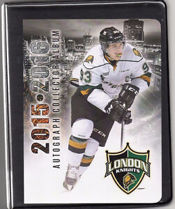 London Knights Autograph Album by the whole team. London Ontario image 1