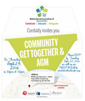 Multicultural Association AGM and Community Get Together
