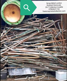 FREE SCRAP METAL COLLECTION/ RUBBISH CLEARANCE SAME DAY PICK UP 24/7