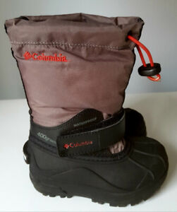 Columbia snow boots toddler size 8
