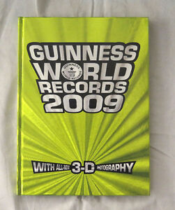 Guinness World Records for 2009 with 3-D Photography