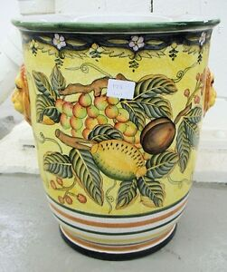 Hand-painted Chinese Planter #7