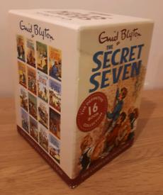 ENID BLYTON SECRET SEVEN 16 BOOK BOX SET VERY GOOD CONDITION
