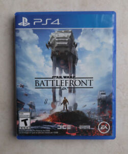 PS4 jeu game Star Wars Battlefront