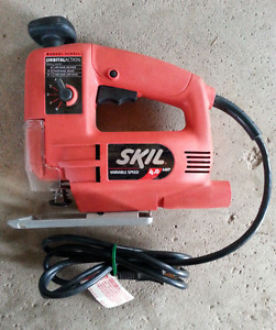 Corded 4.0 AMP Skil Scrolling Jigsaw with Orbital Action etc