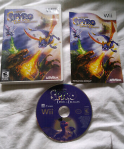 The Legend of Spyro Dawn of the Dragon complete copy