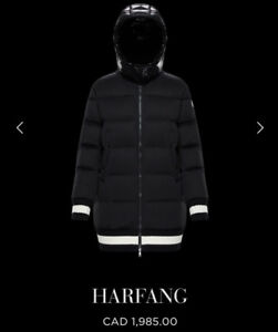 Authentic Women's Moncler HARFANG winter jacket size 1