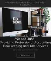 Professional Bookkeeping and Tax Prep In WestBank, West/Kelowna