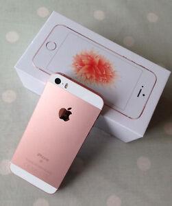 iPhone ** 5SE * UNLOCKED *ROSE GOLD *MINT IN BOX *WRNTY 11-2017!
