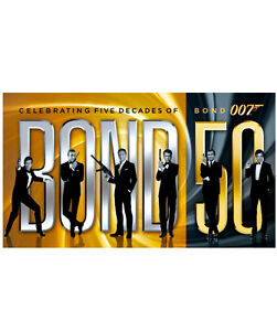 Bond The Complete 23 Film Collection Blu Ray