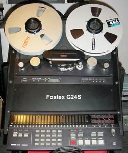 Fostex G24S 24 Pistes avec Dolby S et Synchronizer 8330