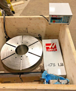 HAS TO MOVE   HAAS HRT-600B ROTARY TABLE