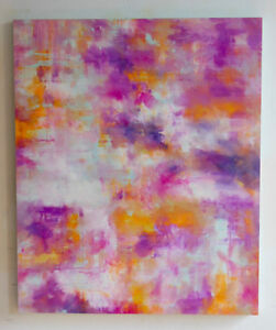 """Beautiful Original 30""""x36"""" Abstract Painting from Local Artist"""