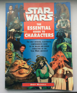 Livre de STAR WARS The Essential Guide to Characters 1995 205 p.