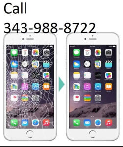 iPhone screen replacement for cheapest in ottawa