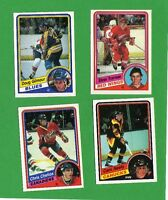 1984-85 OPC HOCKEY CARD SET