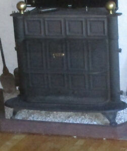Wood burning Stove/Atlanta Stove works Atlanta Ga.2757