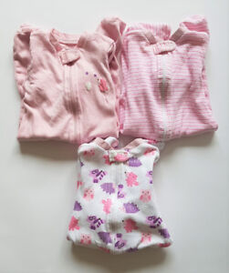Selling 3 sleepers.  Size: 3-6 months  $9 for all three