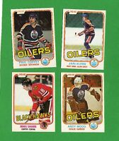 1981-82 OPC HOCKEY CARD SET