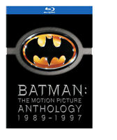 Batman Anthologie 89-97 4 films blu-ray
