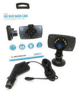 SCOSCHE DDVR2ST Dashboard Camera (1080p HD DVR)