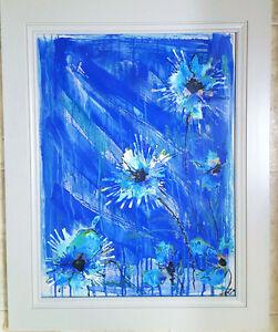 Beautiful blues original painting