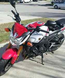 2012 50th Anniversary Yamaha FZ8 Low Mileage