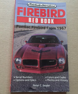 FIREBIRD RED BOOK by Peter C. Sessler 2nd Edition  BRAND NEW