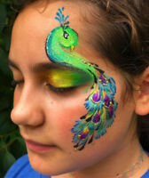 Artistic and Unique Face and Body Painting by Paint me Happy