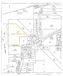 Country Setting in Town! 13 Acres, Private, Ready to Build