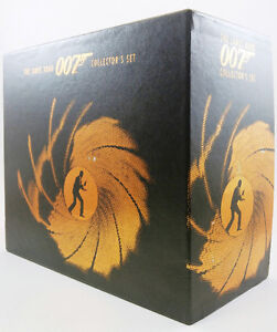 Cassette Video, James Bond 007, Collection de 8 cassette,