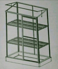 A new still boxed small green house ALUMINIUM FRAME: .