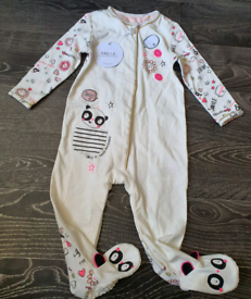 Baby Julien Mcdonald Bodygrow Onesie 9-12 Months Brand New with Tags