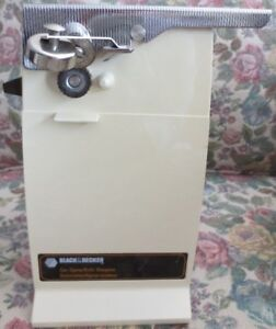 Vintage Black & Decker Electric Can Opener