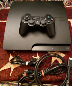 PS3 160gb Slim +3 games your choice from list $100